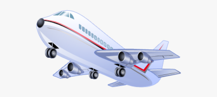 American Airlines Airplane Clipart , Transparent Cartoon.