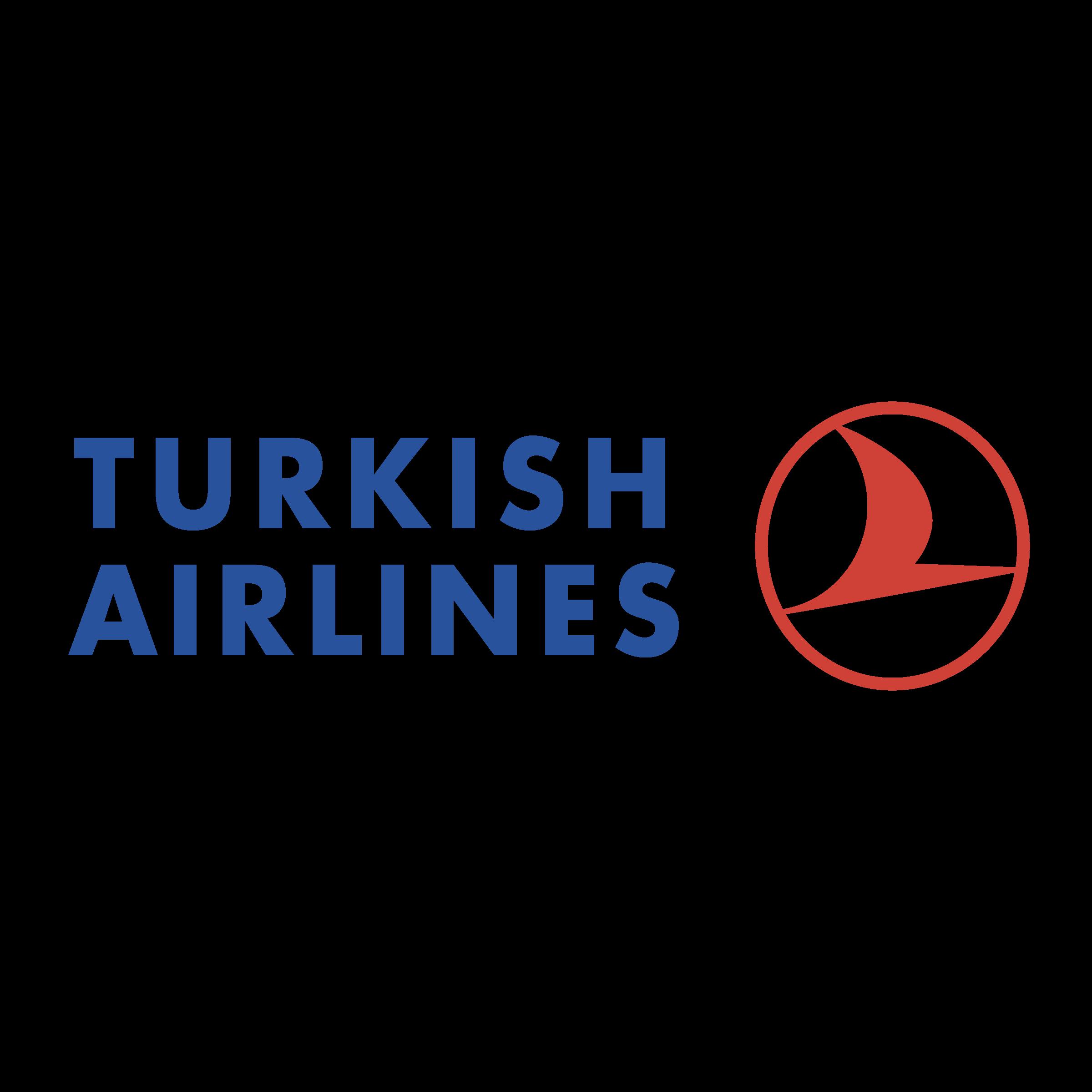 Turkish Airlines Logo PNG Transparent & SVG Vector.