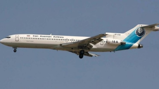 Iran Aseman Airlines historic flight: The last scheduled passenger.