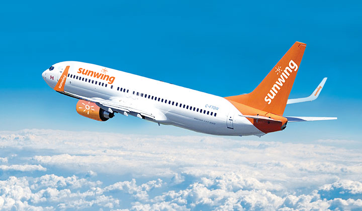 Sunwing Airlines.