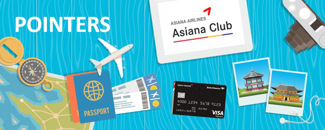Saving Miles with Asiana Award Bookings.