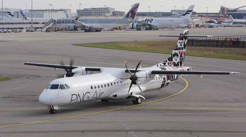PNG Air touches down in Cairns.