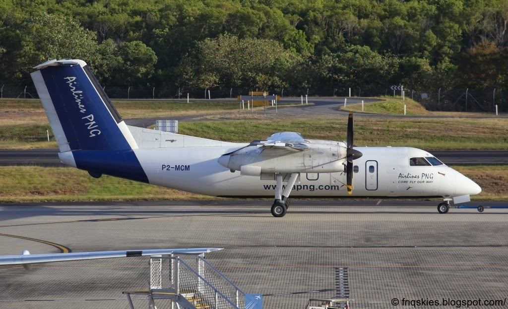 Far North Queensland Skies: Airlines PNG Dash 8 / 100's P2.
