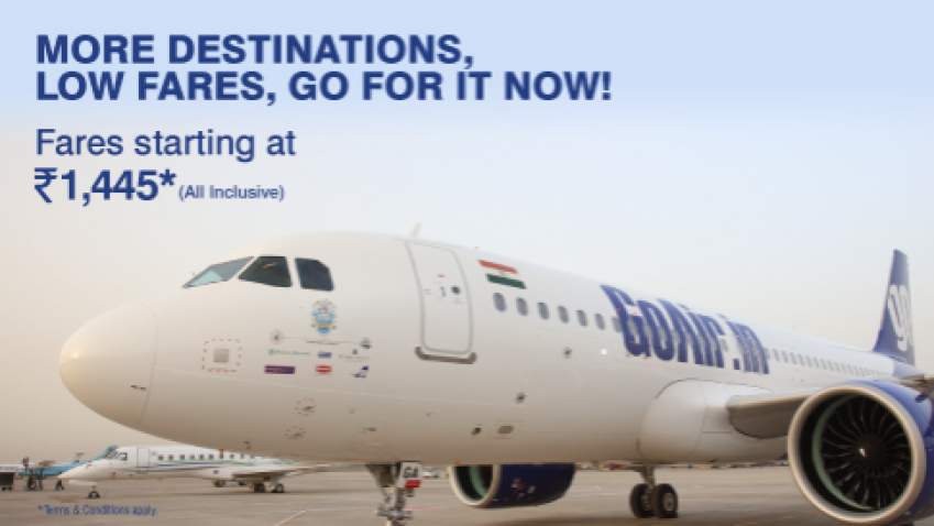 This GoAir offer on domestic flight tickets cuts airfares to as low.