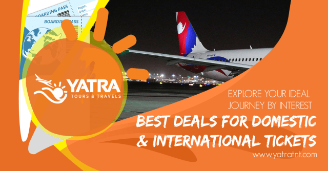 Cheap Domestic Flights Booking in Nepal.