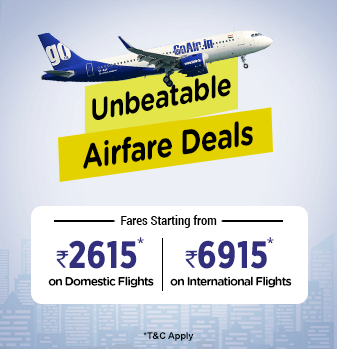 GoAir Offers Sale on Connecting Flights Starting from Rs.2615.