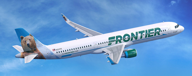 PROMO CODE: 90% off US domestic flights with Frontier!.