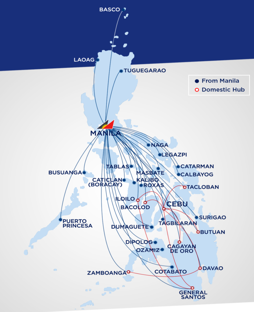Philippines Domestic Flights Planner.