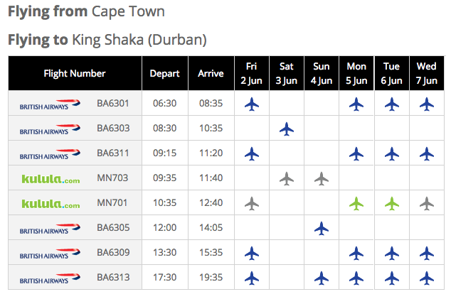 Kulula Online Bookings: Compare and Book Flights Online 24/7 with.