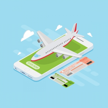 Airline Tickets PNG Images.