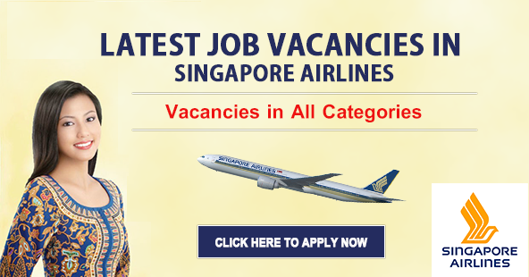 Singapore Airlines jobs Vacancies.