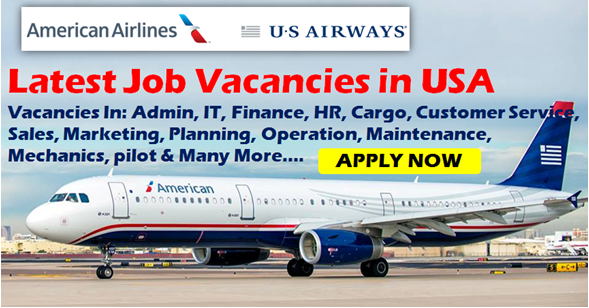 Latest American Airlines Jobs at USA.