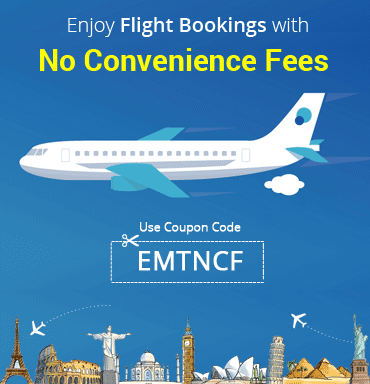 Flight Bookings With No Convenience Fees.