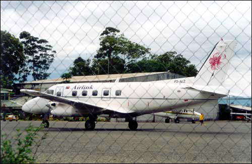 Airlink on the ground at Goroka.