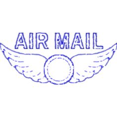 Mail Clipart, Postal Clipart, Digital Mail Clipart, Digital Frames.