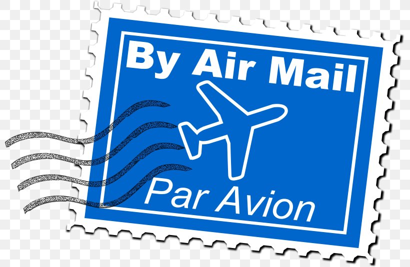 Airmail Stamp Postage Stamps Clip Art, PNG, 799x535px.