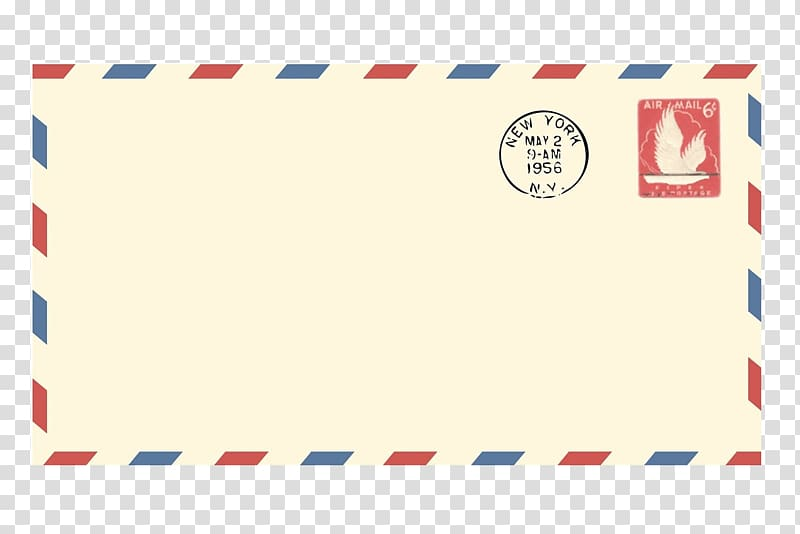 White letter envelop, Paper Airmail Envelope Letter.