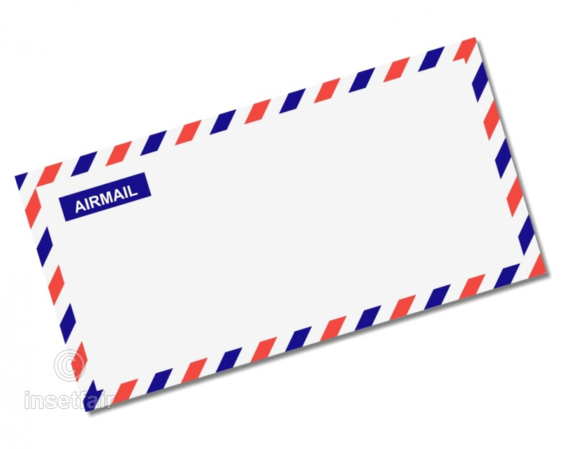 Airmail Envelope Cover.