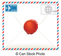 Airmail letter Illustrations and Clipart. 1,406 Airmail letter.