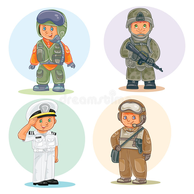 Airman Character Stock Illustrations.