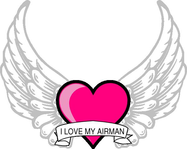 Wings Airman Clip Art at Clker.com.