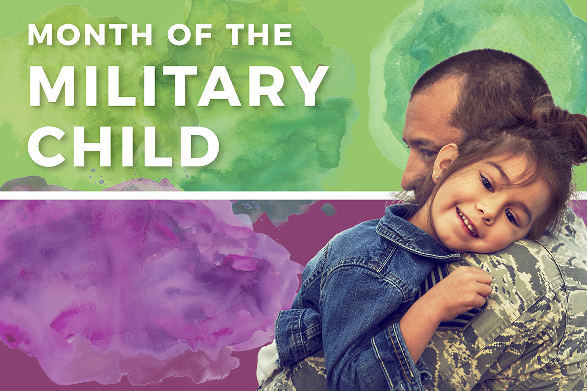 Special Report: Month of the Military Child 2018.