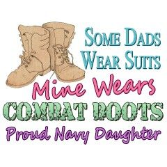Proud Navy Daughter.