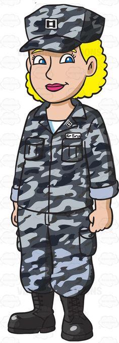A Man Dressed In Us Air Force Airman Battle Uniform.