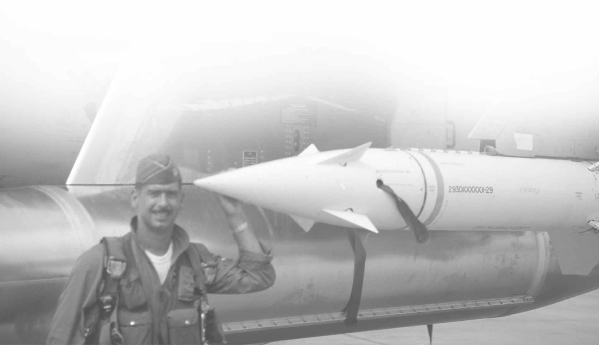 Archival Photo Airmen Missle Missile.