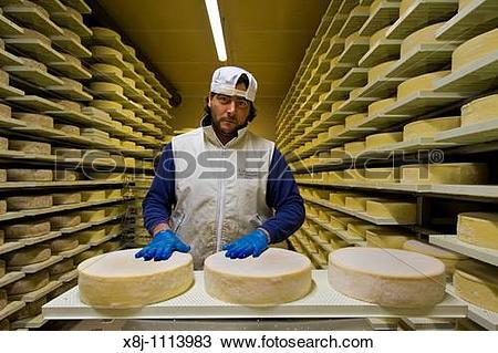 Stock Photo of Gotthard dairy, Airolo, Canton Ticino, Switzerland.