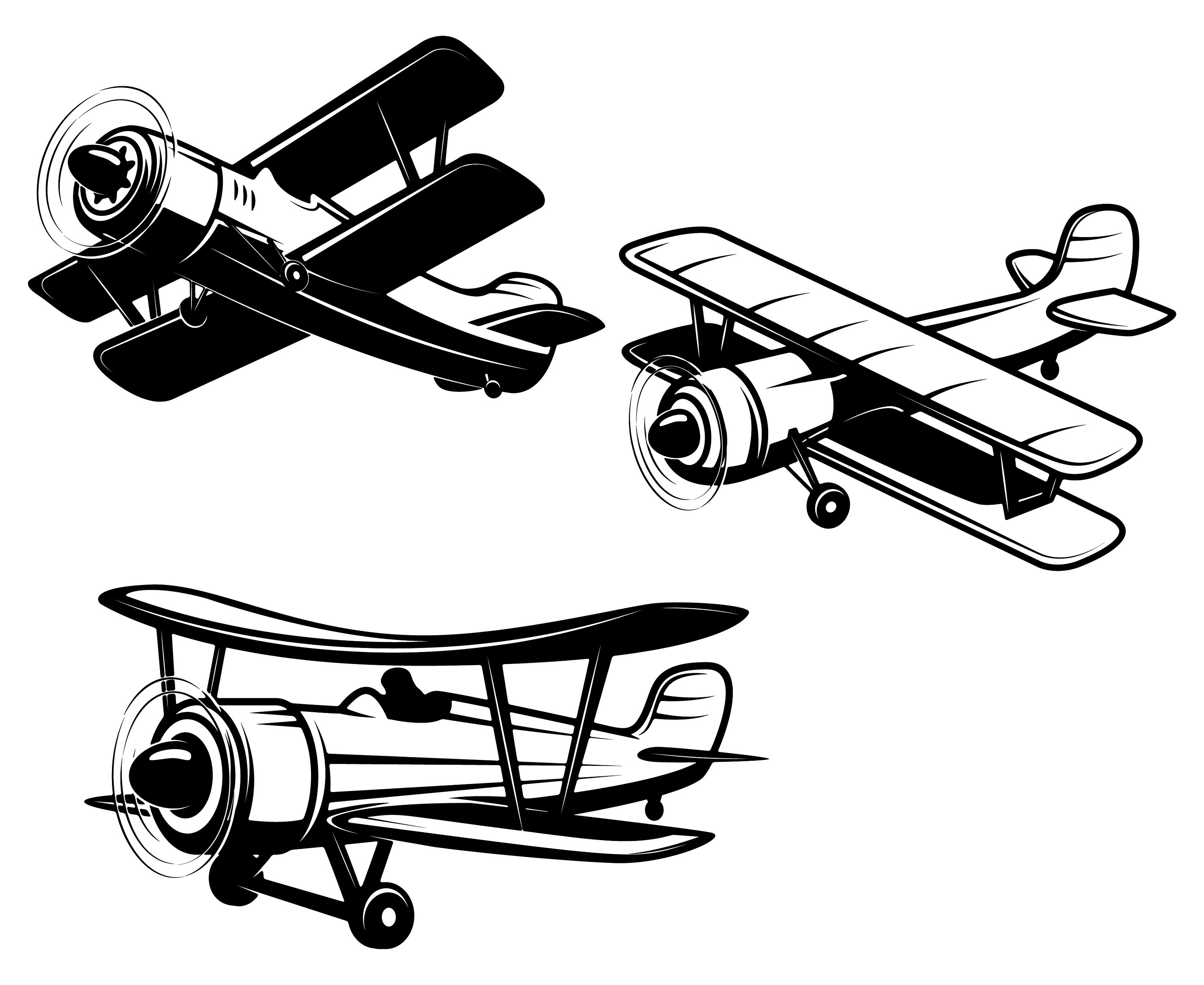 Biplane clipart aviation, Biplane aviation Transparent FREE.