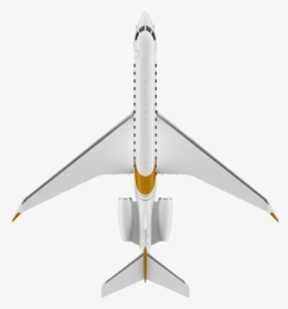 Airplane Clipart Top View, HD Png Download , Transparent Png.