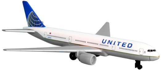 Amazon.com: United Airlines 777 airplane toy plane, RT6266: Toys.