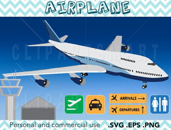 Airplane clipart airport clipart planes air plane by.