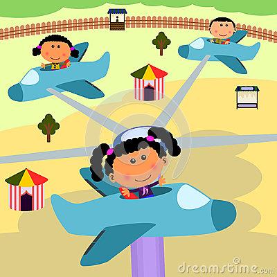 Airplane Ride Clipart.