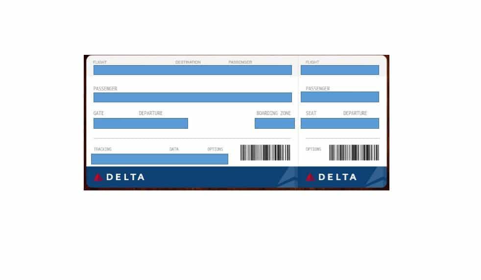 16 Real & Fake Boarding Pass Templates.