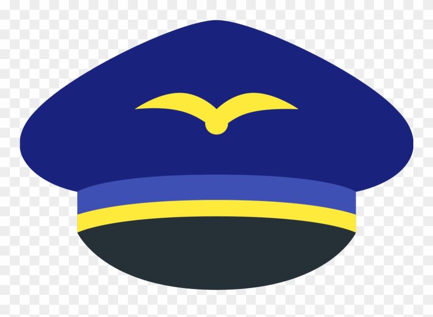 Pilot Clipart Icon.