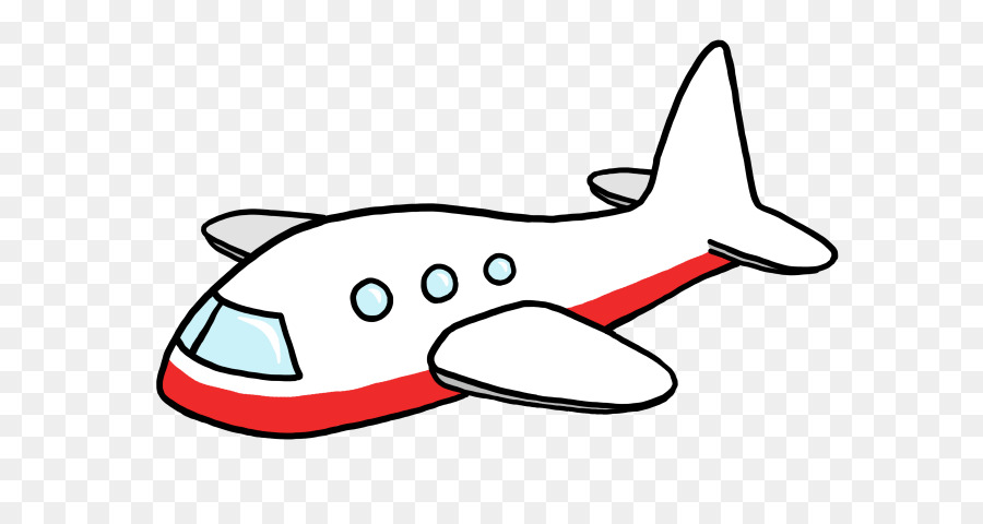 Cartoon Airplane clipart.