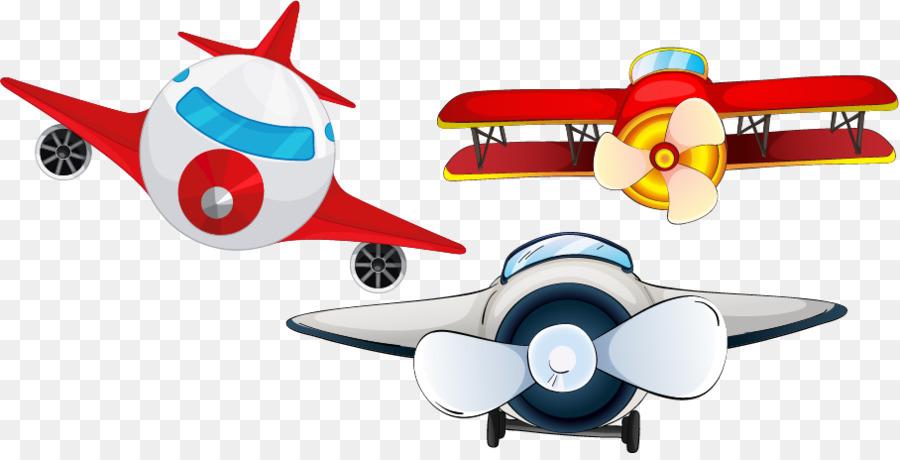 Cartoon Airplane.