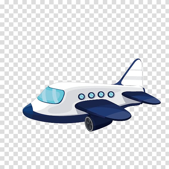 Airplane cartoon illustration, Airplane Helicopter Aircraft.