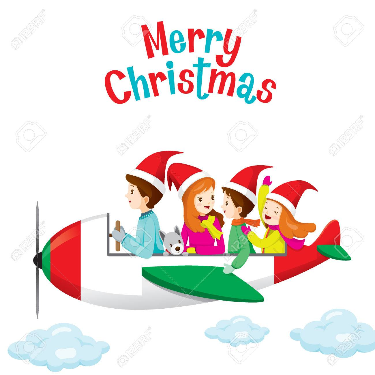 Christmas Airplane Cliparts Free Download Clip Art.