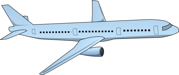 Aircraft Airplane clip art Free vector in Open office drawing svg.