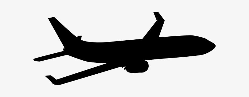 Plane Silhouette Clip Art.