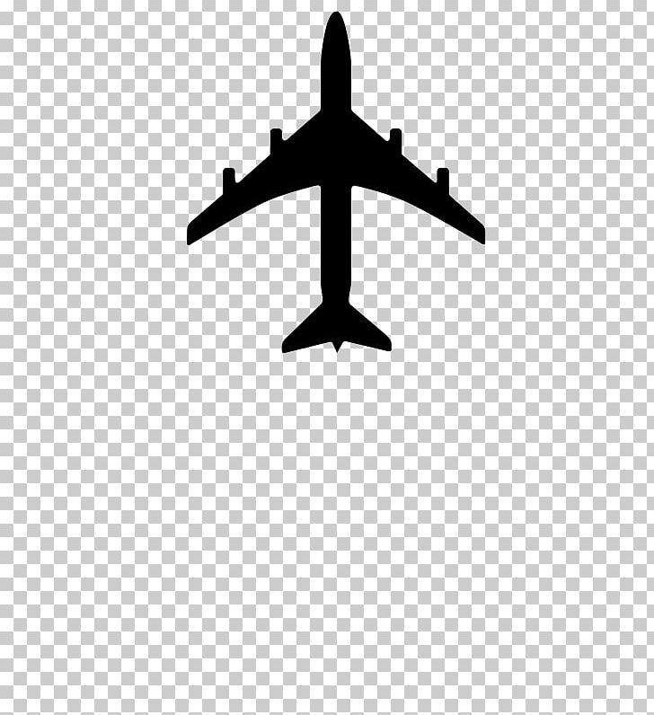 Airplane Silhouette PNG, Clipart, Aircraft, Airliner.
