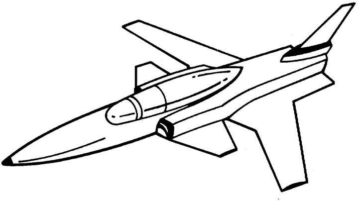 Military Airplane Coloring Pages.