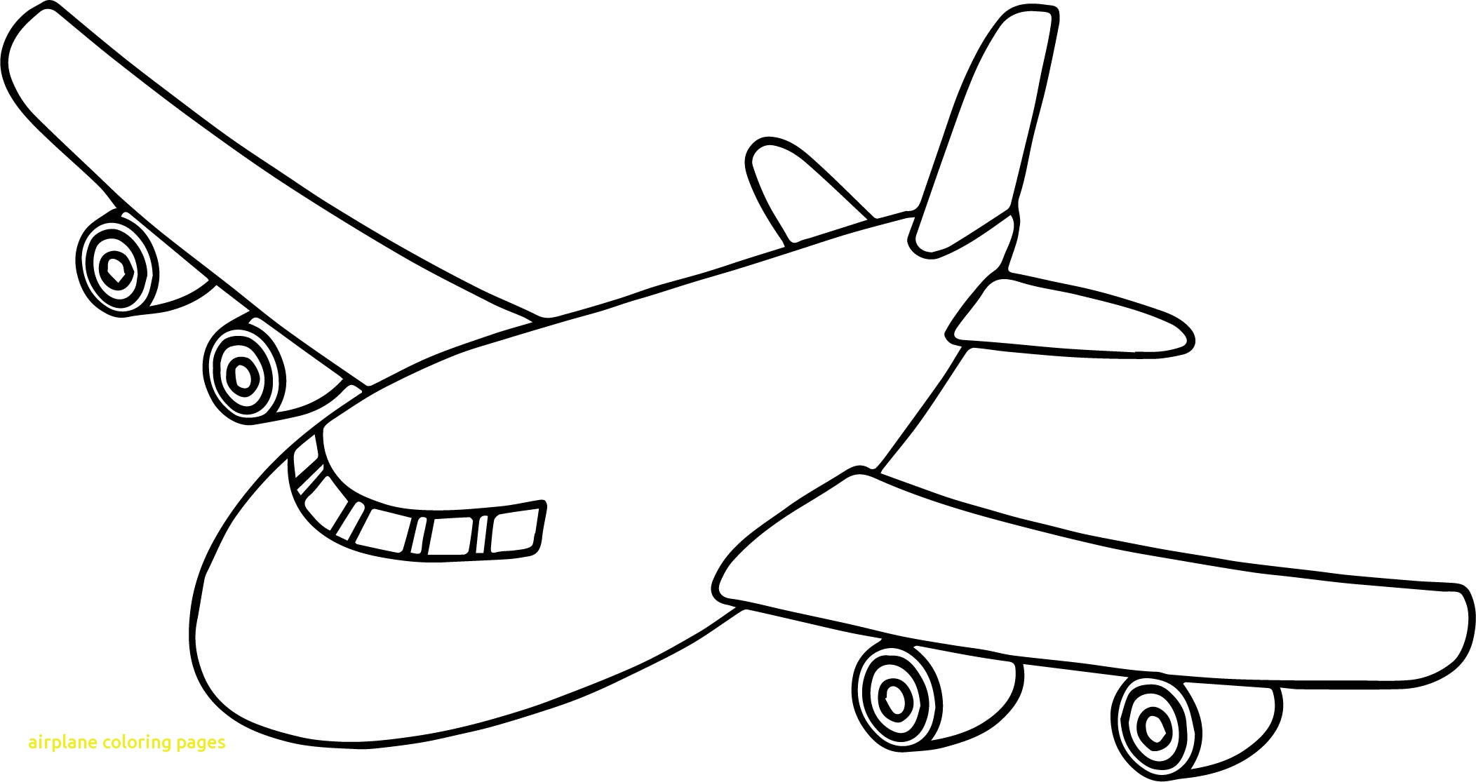 Coloring Pages Airplane.