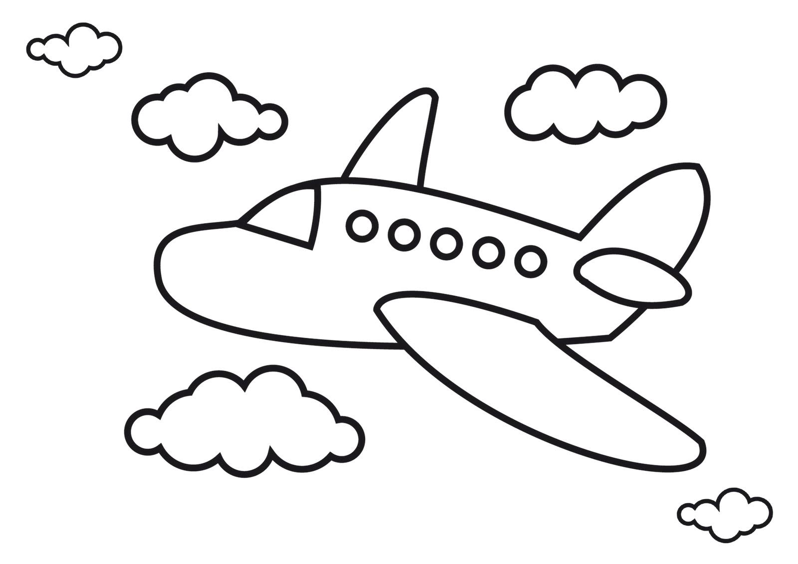 Airplane Clipart For Preschool.