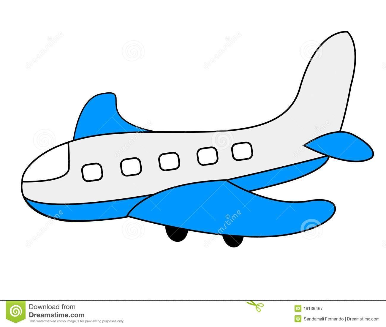 Landing Airplane Clipart.