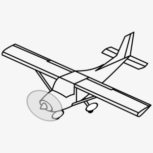 Airplane Clipart Prop.