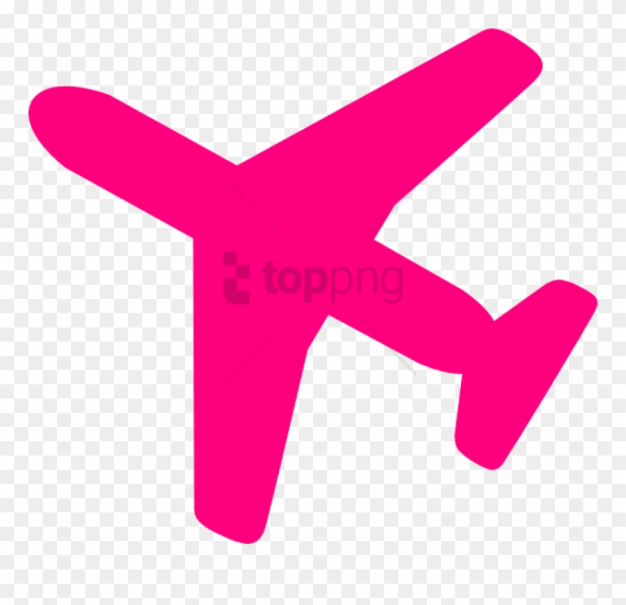 28 Collection Of Pink Airplane Clipart.